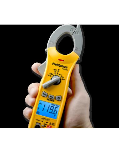 Pinça Amperimétrica compacta com True RMS | Fieldpiece | SC260 | Ferramentas | Fieldpiece