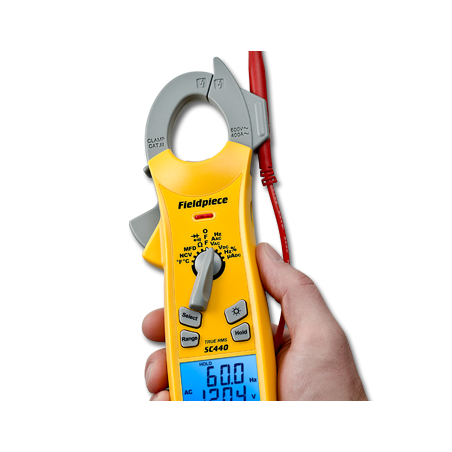 Pinça Amperimétrica Essencial   Fieldpiece   SC440   Ferramentas   Fieldpiece