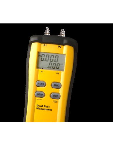 Manômetro Dual Port | Fieldpiece | SDMN5 | Ferramentas | Fieldpiece