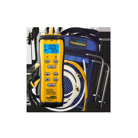 Manómetro de Dual-Port e Medidor de Interrupção de Pressão | Fieldpiece | SDMN6 | Ferramentas | Fieldpiece