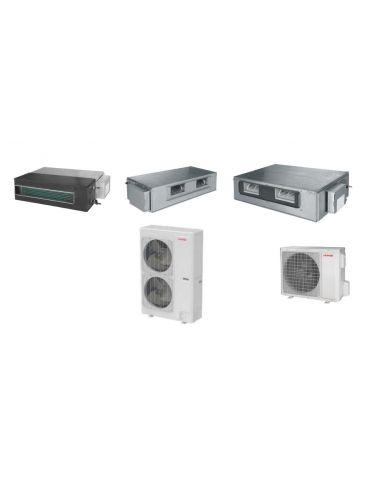 Ar condicionado Conduta DC Inverter Toyotomi Gama Comercial para lojas