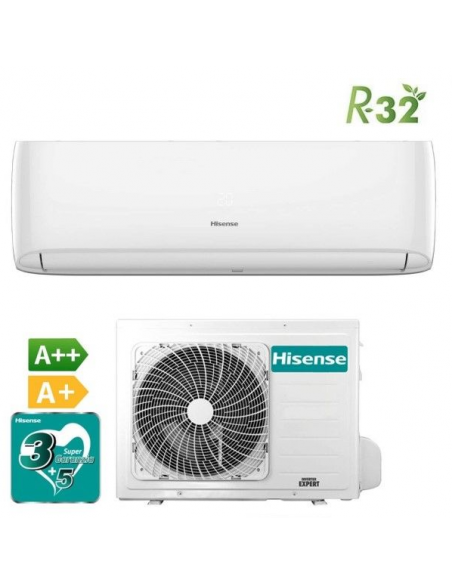 Ar Condicionado Doméstico Hisense R32 - New Comfort 12.000 BTU DJ35VE0A | Ar Condicionado Hisense | Hisense
