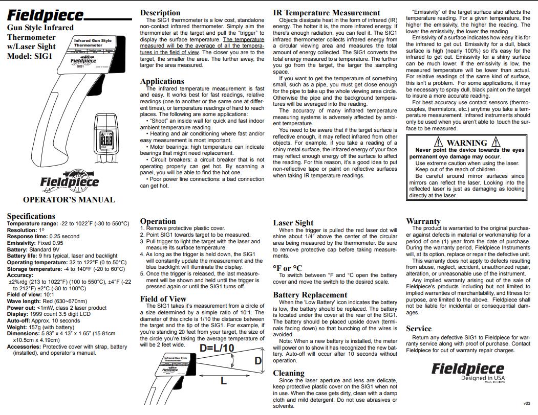 instrucoes termometro infravermelho